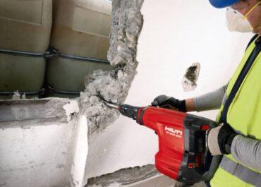 фото демонтаж бетонных стен
