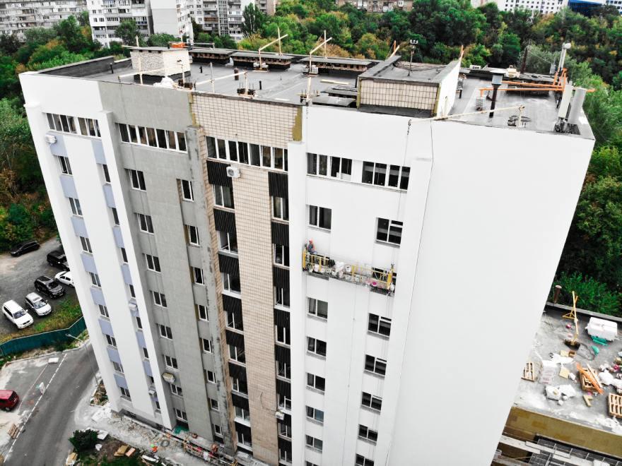 фото фасадных работ