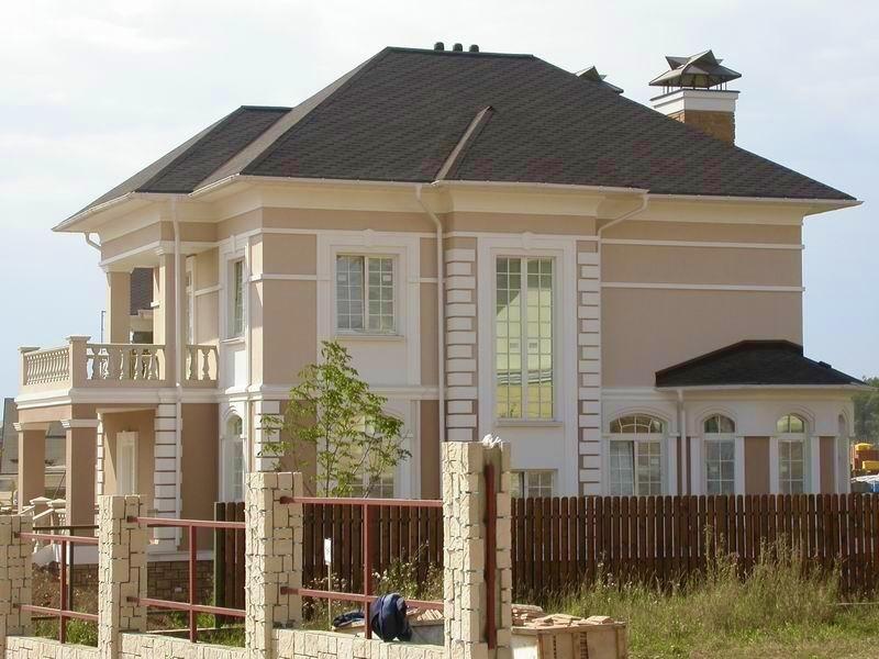 фото отделка фасада дома