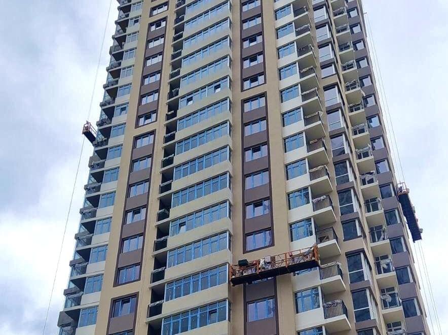 фото отделка фасадов многоэтажных зданий