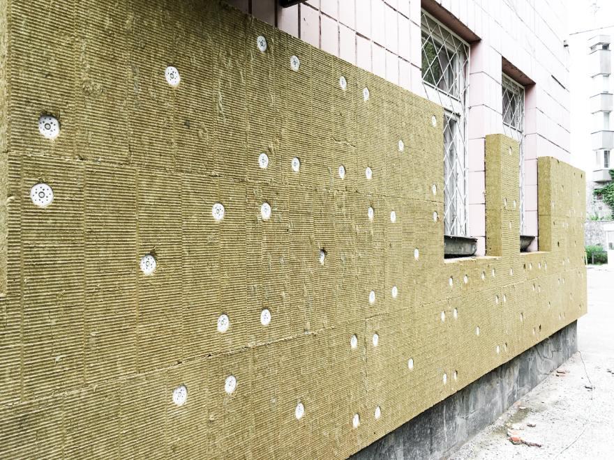фото утепление фасада минеральной ватой