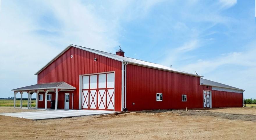 изображение строительство фермы под ключ